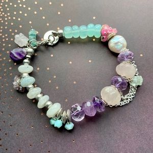 Jewelry - Rainbow Gemstone Bracelet